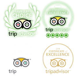 Trip Advisor Certificates of excellence for 2017  2018 and 2019